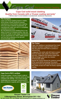 Cape Cod Product Overview Brochure