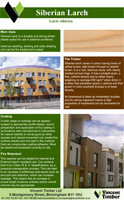 Siberian Larch Product Brochure