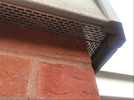 Detailing image  � Profile: Rebated Bevel. Corner profile: One piece external corner. With metal insect mesh