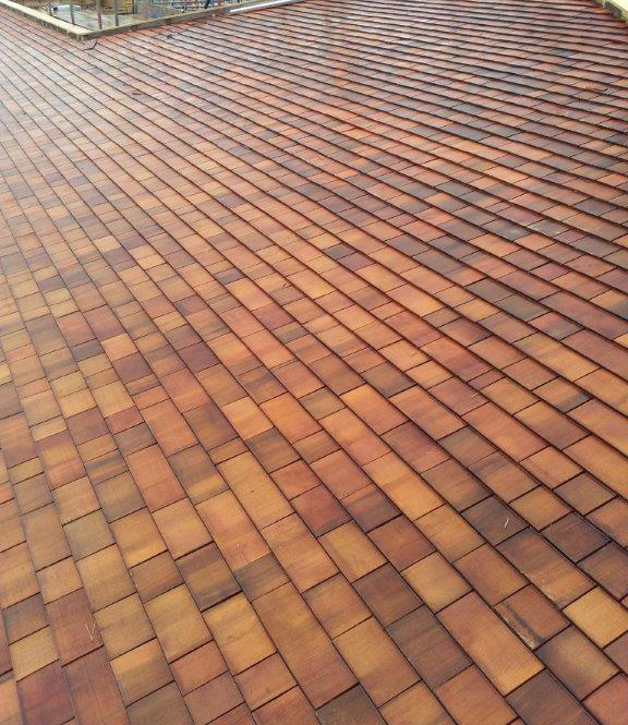Vincent timber picture gallery cedar shingles for Fire resistant roofing