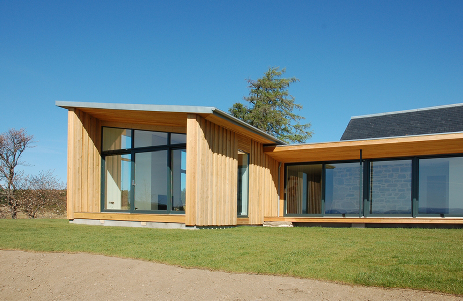 black vincent timber clad houses | Home Grown Timber Cladding, pictures from Vincent Timber