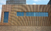 Project - Norwich Medical Research Centre. Profile - Predominantly 44f x 44f Air Dried /Green - No2 Clear & Better - Virtually Knot Free Cedar