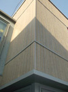 Phase One ofMid-Kent College, Maidstone - Solea Profile 27mm x 125mm face cover (narrow boards only) - pre-weathered grey