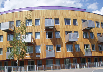 White City using Siberian Larch