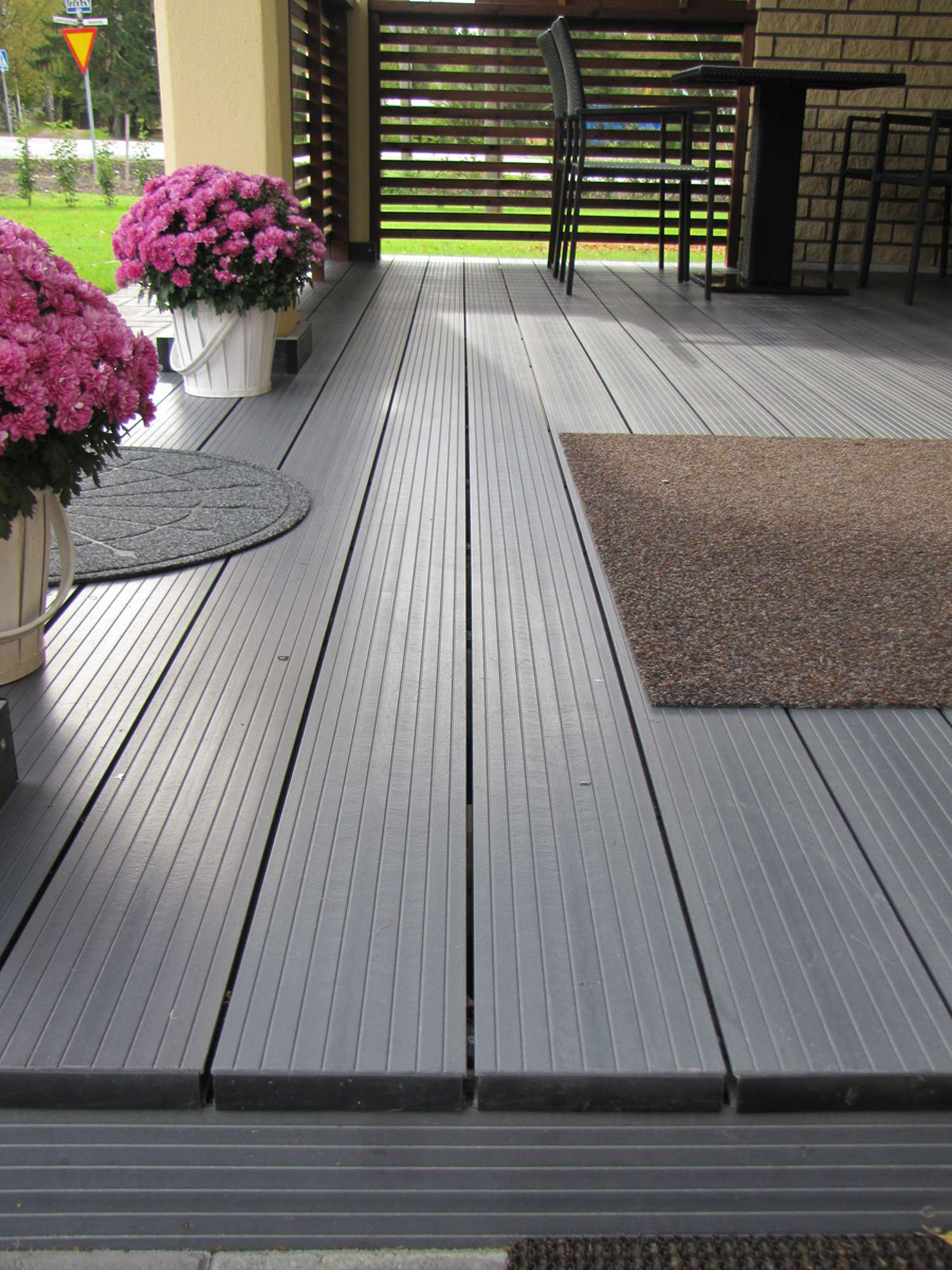Timber Composite Decking From Luna Comp Pictures From